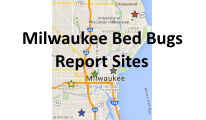 Milwaukee Bed Bugs Map
